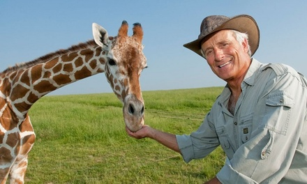 """Jack Hanna's Into the Wild Live"" on October 4 at 2 p.m."
