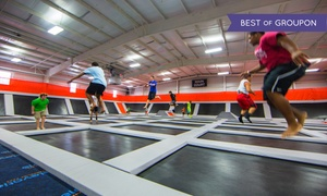 Elevation Trampoline Park - Moore: 1-Hour Open Jump Sessions, or a Party for up to 12 at Elevation Trampoline Park - Moore (Up to 45% Off)