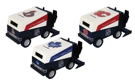 NHL Model Zamboni Banks