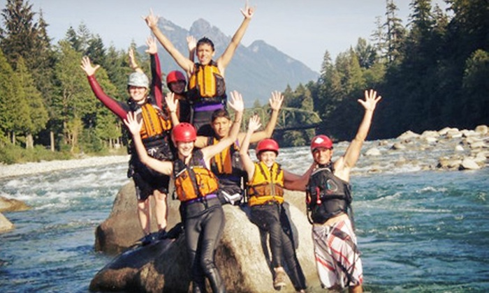 Outdoor Adventure Center - Multiple Locations: $795 for a North Fork Skykomish River Camp for Teens from Outdoor Adventure Center ($1,595 Value). Nine Dates Available.