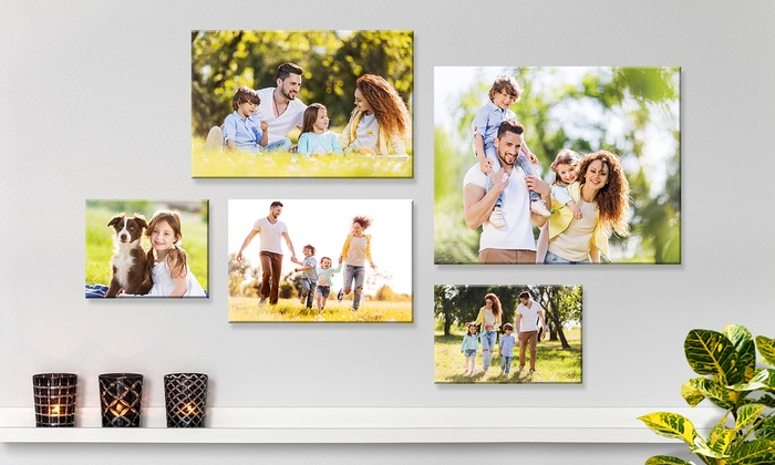 One, Two, or Three Custom Canvas Prints from Fabness (Up to 89% Off). Seven Options Available.