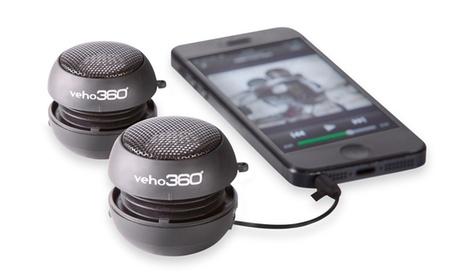 Altavoz portátil mini con sonido envolvente 360º