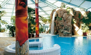 WAIKIKI Thermen- & Erlebniswelt am Zeulenrodaer Meer: Tageskarte für das Tropen- und Sportbad für 2 Erwachsene, opt. mit 1 oder 2 Kids, in der Badewelt Waikiki (50% sparen*)