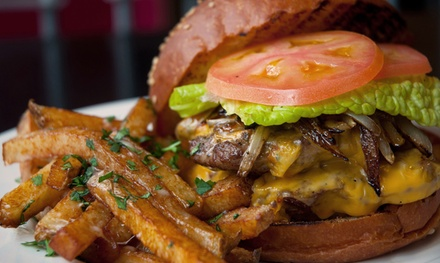 Burgers, Sandwiches, and Beer at Dooley's Beef N Brew House (Up to 50% Off). Four Options Available.