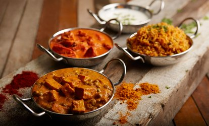 Indian Meal for Two or Four at Bombay Brasserie (Up to 42% Off)