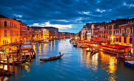 groupon daily deal - 9-Day Rail Tour of Italy with Airfare and Hotels from Gate 1 Travel; Price/Person Based on Double Occupancy