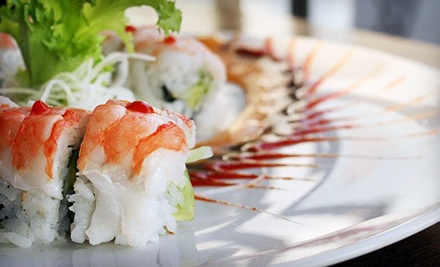 $12 for $25 Worth of Japanese Food for Dinner at Taste of Asia