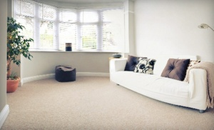 Sparkle Clean: Carpet Cleaning for Two or Four Rooms, Plus, One Hallway from Sparkle Clean (Up to 56% Off)