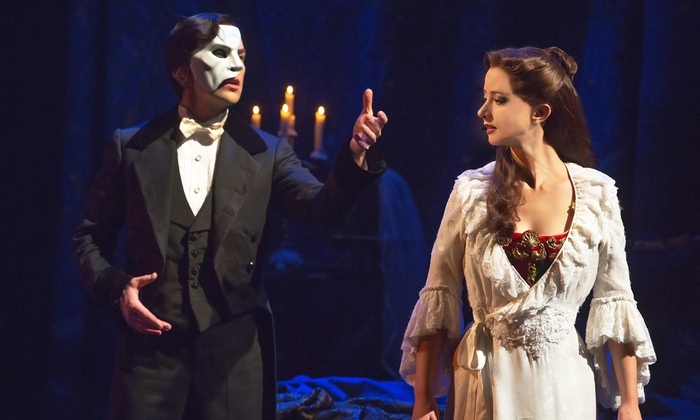 """""""The Phantom of the Opera"""" - PANTAGES THEATRE: """"The Phantom of the Opera"""" at Hollywood Pantages Theatre Through July 31 (Up to 25% Off)"""