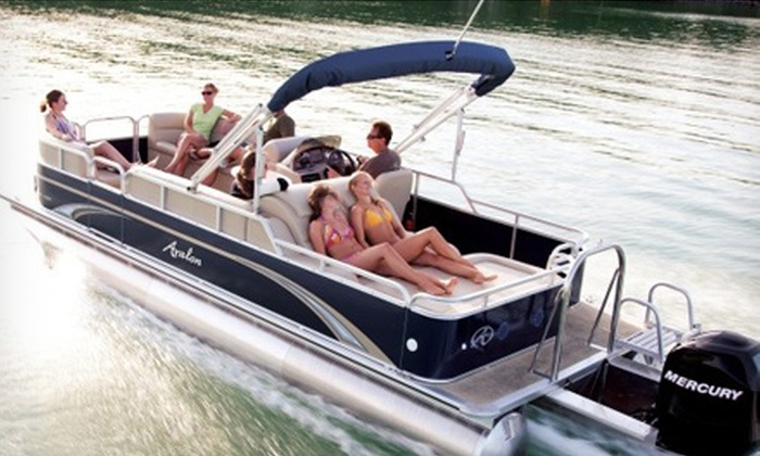 Miami Watersports LLC - Miami: Two- or Four-Hour Luxury-Pontoon Rental for Up to 10 from Miami Watersports LLC (Up to 67% Off)