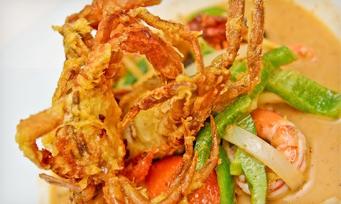 Rak Thai Bistro - Northview: Five-Course Tasting Menu for Two or Four at Rak Thai Bistro (Up to 57% Off)