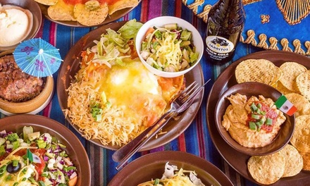 $25 for $50 for Two People, or $49 for $100 for Four to Spend on Food and Drinks at Montezuma's Surfers Paradise