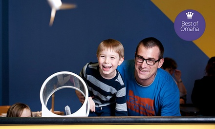 Museum Trip for Two or Family of Four at Science Center of Iowa (Up to 45% Off)