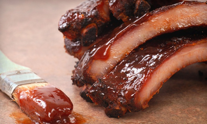 Smoken Bones Cookshack - Downtown: Wood-Smoked Barbecue and Handcrafted Burgers for Two or Four at Smoken Bones Cookshack (Half Off)