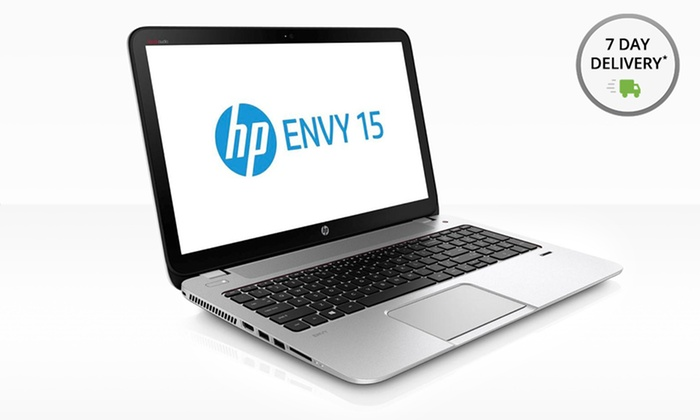 "HP Envy 15.6"" 1080p HD Touchsmart Laptop: HP Envy 15.6"" 1080p HD TouchSmart Laptop with 12GB RAM,Beats Audio 15-j063cl (Manufacturer Refurbished). Free Returns."