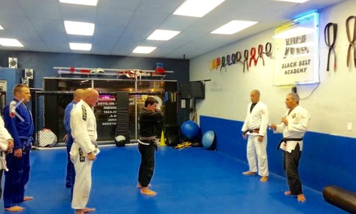 "MARCELO ""BRUTUS"" SILVEIRA BRAZILIAN JIU-JITSU TEAM - Boca Raton: $49 for $139 Worth of Martial-Arts Lessons — MARCELO ""BRUTUS"" SILVEIRA BRAZILIAN JIU-JITSU TEAM"