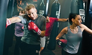 TITLE Boxing Club: $52 for Two Weeks of Classes and Set of Hand Wraps and Gloves at TITLE Boxing Club ($75.48 Value)