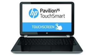"""Hp Pavilion 15.6"""" Touchscreen Notebook With Quad-core Processor, 8gb Ram, & 750gb Hard Drive (manufacturer Refurbished)"""