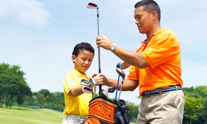 Kids on Course Golf Academy - Northeast San Antonio: Four Golf-Clinic Lessons with Clubs for Two or Four at Kids on Course Golf Academy (Up to 50% Off)