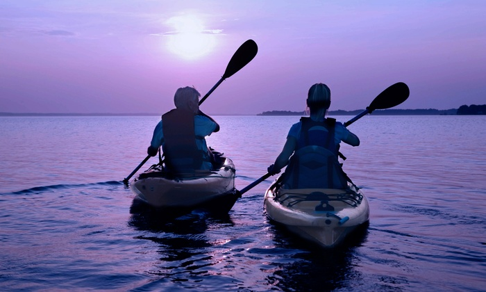 Beach Town Tours - Galveston: Kayak and Paddleboard Rentals for Two or Four from Beach Town Tours (Up to 60% Off). Eight Options Available.