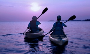Beach Town Tours: Sunset Kayak Tour for Two, or Kayak or Bike Tour for Two, Four, or Six from Beach Town Tours (Up to 62% Off)