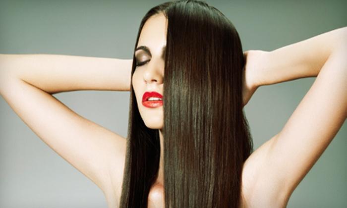 Paradise Salon & Spa - The Hammocks: $50 Worth of Hair, Nail, and Body Treatments