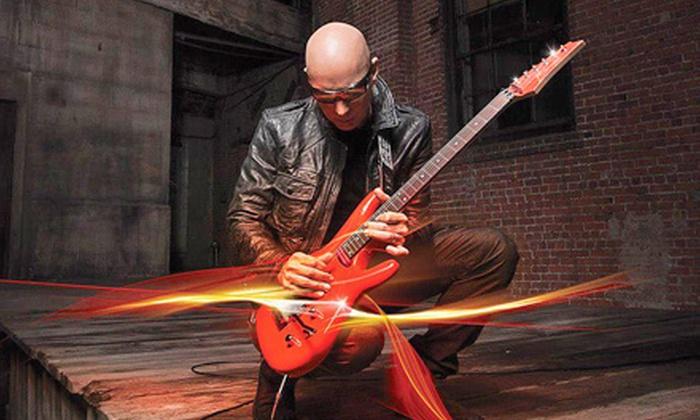 Joe Satriani with Steve Morse - Macomb Music Theatre: $37 for Two to See Joe Satriani with Steve Morse at Macomb Music Theatre on September 22 (Up to $74.70 Value)