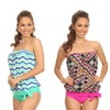 Dippin' Daisy's Tribal Bandeau Blouson Prints with Bottoms