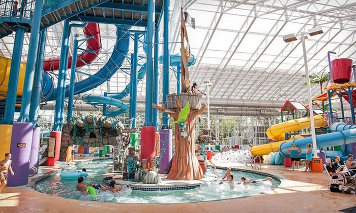 Big Splash Adventure - French Lick, IN: One- or Two-Night Stay for Four at Big Splash Adventure in French Lick, IN