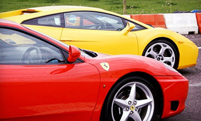 Exotic Car Tours - Multiple Locations: Exotic-Car Track Experience or Test Drive from Exotic Car Tours (Up to 50% Off). Six Options Available.