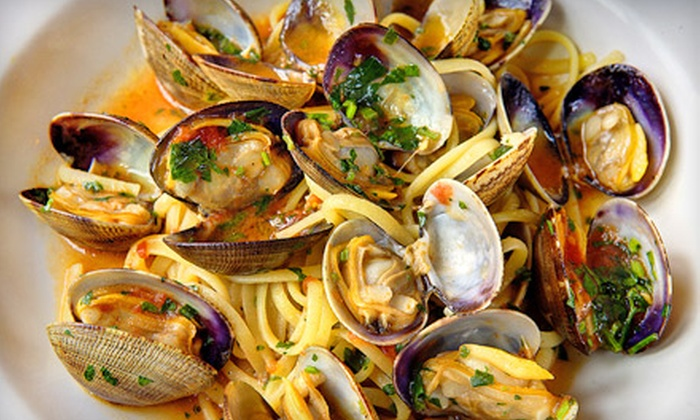 Tiffany Italian Mediterranean - Suisun City: Dinner for Two or Four at Tiffany Italian Mediterranean (Half Off)