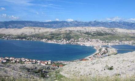 Chorwacja, wyspa Pag: 7 nocy z wyżywieniem, transport