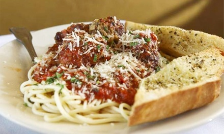 Four-Course Italian Dinner for Two with Wine on a Weekday or Weekend at Anselmo's Bistro & Bar (Up to 41% Off)