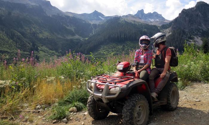 Whistler ATV - Whistler: C$125 for a Tandem ATV Easy Rider Tour for Two from Whistler ATV (C$210 Value)