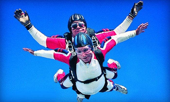 ATL Skydiving - Winston: $169 for a Tandem Skydive with $30 Toward a Souvenir T-Shirt or Jump Video at ATL Skydiving (Up to $329 Value)