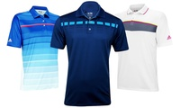 GROUPON: Adidas Men's Moisture-Wicking Golf Polos Adidas Men's Moisture-Wicking Golf Polos