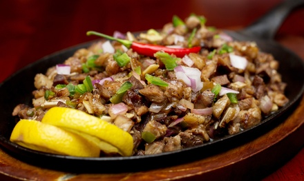 Filipino Dining at Kuta Bistro (Up to 38% Off). Two Options Available.