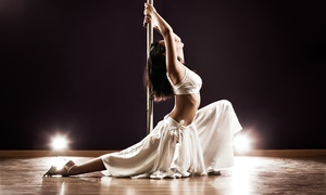 The Secret Pole Dance Studio: Three or Six Pole-Dance or Fitness Classes or a Pole Dance Party at The Secret Pole Dance Studio (Up to 67% Off)