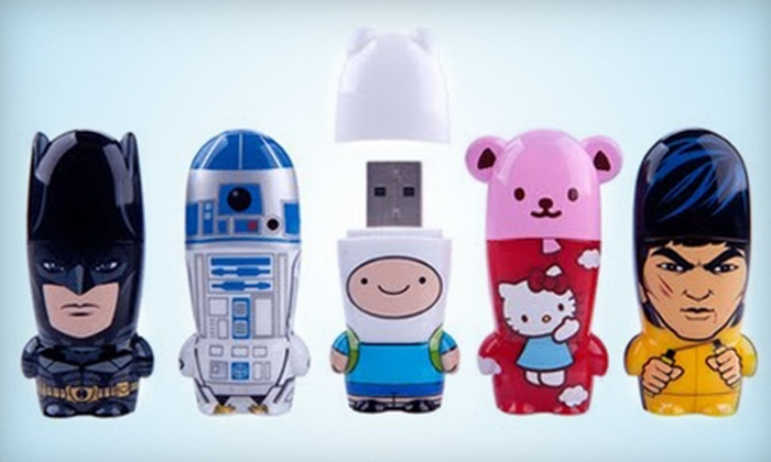 Mimoco: $15 for $30 Worth of Pop-Culture Flash Drives, Gadgets, and Toys from Mimoco