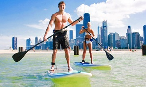 Chicago SUP: One- or Two-Hour Standup-Paddleboard Rental for One or Two from Chicago SUP (Up to 47% Off)