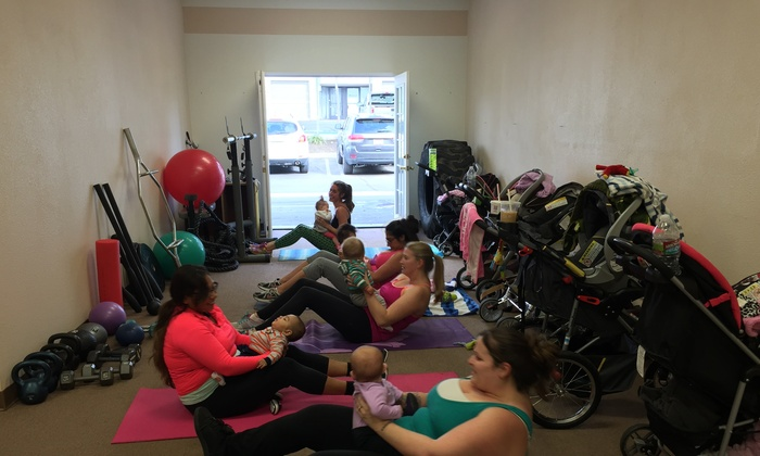 BAD ASH Mommy and Me Fit Camp - Upland: $39 for $125 Worth of workout classes at BAD ASH Mommy and Me Fit Camp