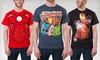 Marvel Superhero Men's T-shirts: $11.99 for a Marvel Iron Man or Avengers Men's T-shirt ($20 List Price). 6 Styles Available. Free Returns.