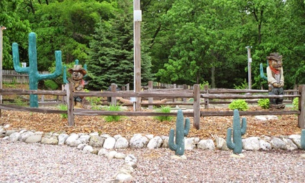 Groupon Deal: 2- or 7-Night Stay in a Deluxe Cabin or RV Site at Westward Ho RV Resort & Campground in Glenbeulah, WI