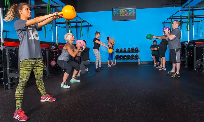 Zone 4 Fitness - Multiple Locations: Four Group Fitness Conditioning Classes from Zone 4 Fitness (60% Off)