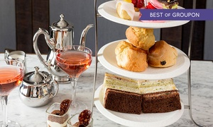 Lanes Of London: Valentine's Afternoon Tea for Two or Four With Prosecco or Champagne at Lanes Of London (Up to 57% Off)