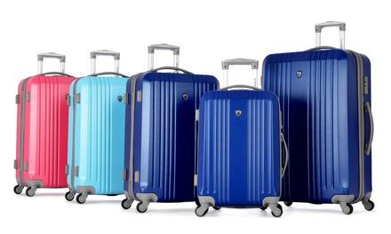 Olympia USA Corsair 3-Piece Hardcase Spinner Luggage Set