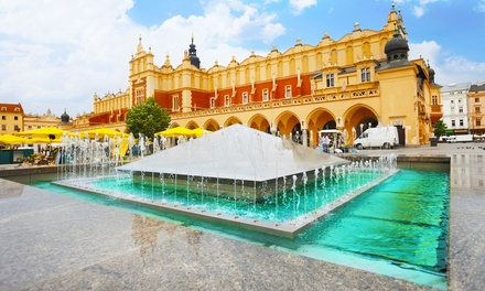 ✈ Warsaw and Krakow: 4 or 6 Nights at a Choice of Hotels with Flights, Train Transfer and AuschwitzBirkenau Tour*