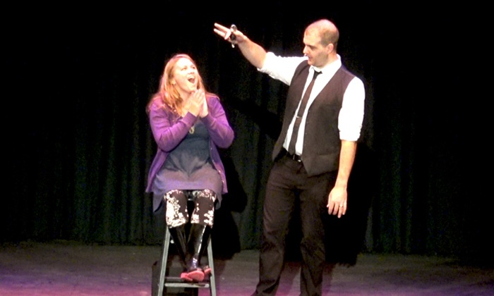 """Turning Tricks: Magic and Comedy Show  - The Prescott: """"Turning Tricks"""" Magic Comedy Show, April 22, April 29, and May 6 (Up to 40% Off)"""