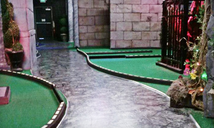 Ghost Golf - Downtown Concord: $18 for Four Rounds of Mini Golf at Ghost Golf (Up to $36 Value)