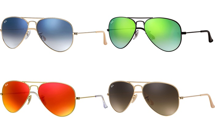Up To 44% Off on Ray-Ban Aviator Sunglasses  5ab9e8c646bb